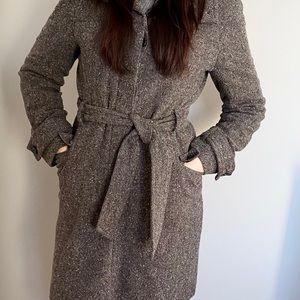 Okd Navy Long Coat